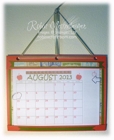 CalendarHanging
