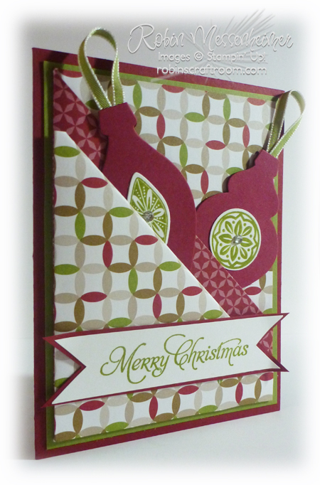Another QUICK Diagonal Double Pocket Card!