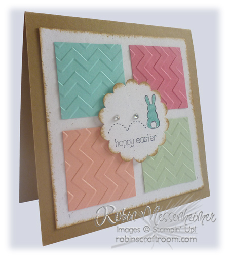 Handmade Easter Card – Easter Cards Stampin Up