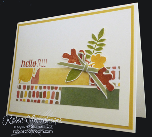 Robins Craft Room Fall Card Number 4