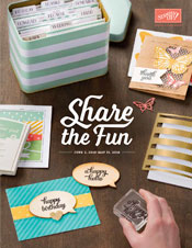 Stampin Up Catalog 2015-2016