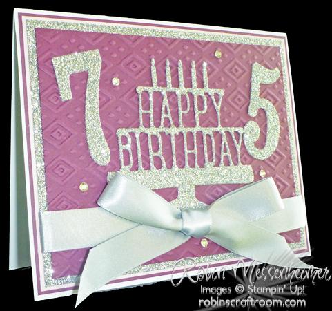 A Very Special Birthday Robinscraftroom