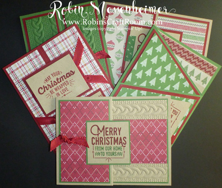 Christmas Card Tutorial Booklet Robinscraftroom