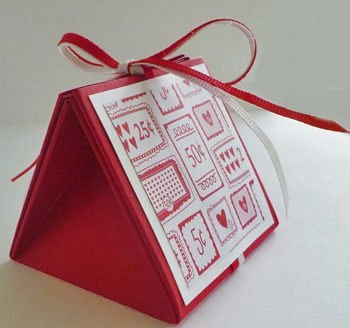 Fun Folded Gift Box for Valentine's Favors!
