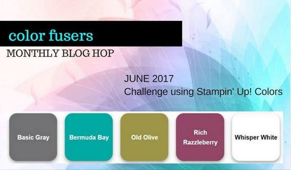 Color Fusers Blog Hop: June 2017