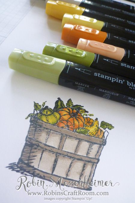 Thankful for Stampin' Blends!