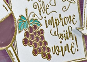 Wine with a Dark Fruit Flavor!
