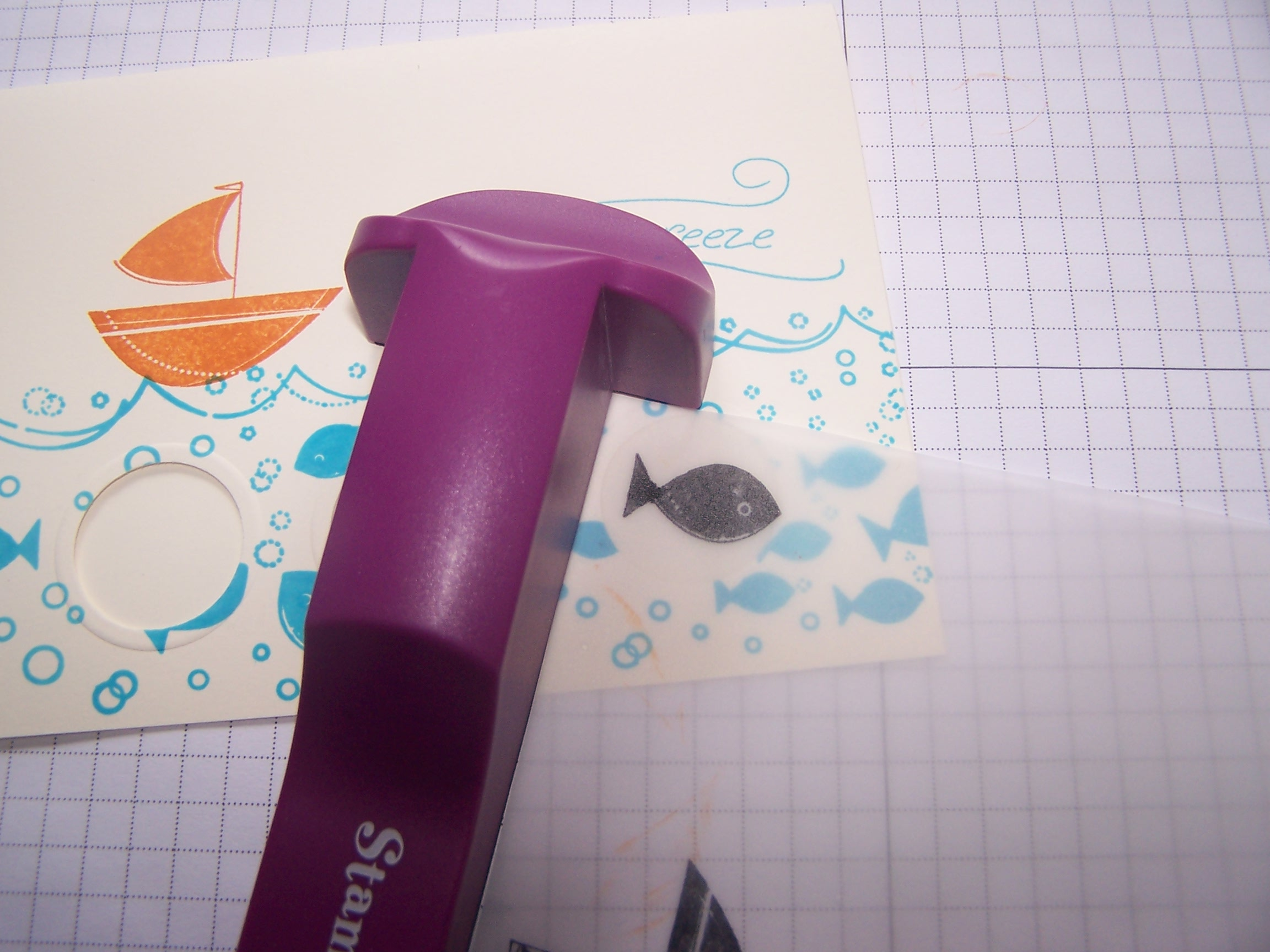 Stamping the fish