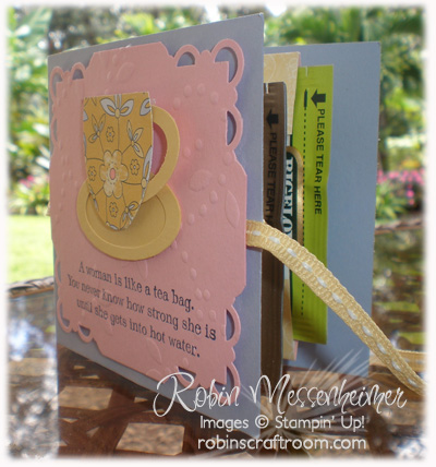 Inside of Tea Bag Card
